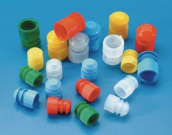 Stoppers for test tubes, PE