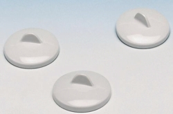 Lids for porcelain crucibles, DIN 12904