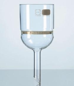 Slotted sieve filter funnels (Buchner funnels), DURAN®