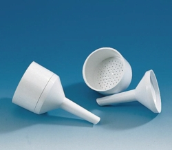 Filter funnels, PP, Buchner