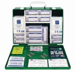 First aid boxes, medium, UK-Standard