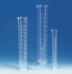 Measuring cylinders, PMP, class A, KB