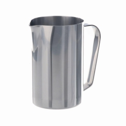 Measuring jugs with handle, stainless steel, heavy duty