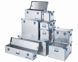 Euro-boxes, aluminium alloy