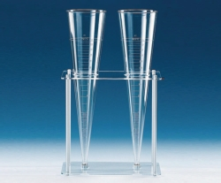 Sedimentation cones, accessory stand, Acrylic/PP