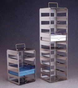 Vertical cryobox racks Nalgene™, Type 5036