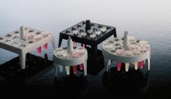 Floating cryovial racks, Type 5974, PP
