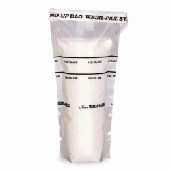 Whirl-Pak® Sample bags, PE, sterile, free standing