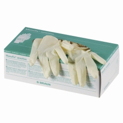 Disposable Gloves, Manufix® Sensitive und Powdered, Latex, Powder-Free and Powdered