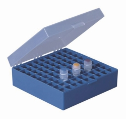 Cryogenic boxes, PP, autoclavable, 133 x 133