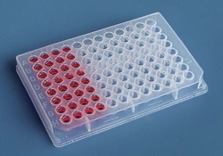 Microtitration plates and sealing films