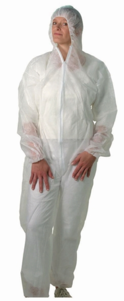 Disposable Protective Suits with Hood, PP