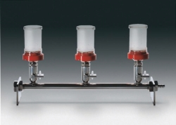 Stainless steel filter manifold system