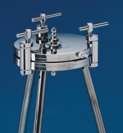 Filter holder, stainless steel