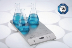 Multi-position magnetic stirrers MIX 15 eco