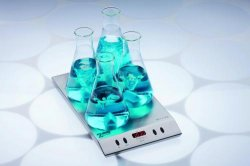 Multi-position Magnetic stirrer with internal control MIX 4 MS