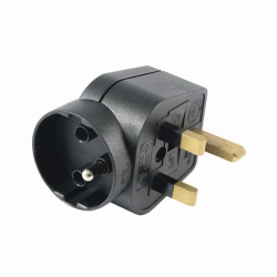 Adaptor plugs, Swiss and UK