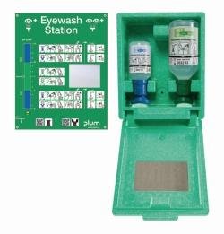 Eyewash Emergency Station, Wall-Mounting