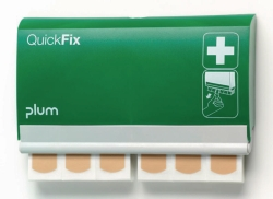 Plaster and plaster dispenser QuickFix