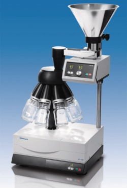 Sample Divider PT 100 with vibratory feeder DR 100
