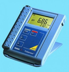 Battery-operated pH meters, Knick Portamess® 911 to 913 series