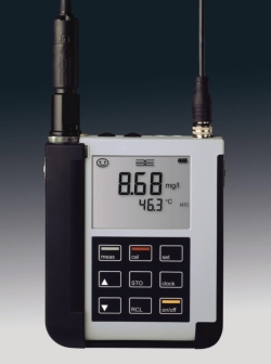 Portable dissolved oxygen meter Portavo 904 Oxy