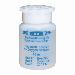 Electrolyte solution for dissolved oxygen electrodes