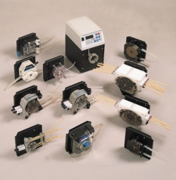 Single-channel pumpheads for  BVP-Standard (-Process) and MCP-Standard (-Process) peristaltic pump drive units