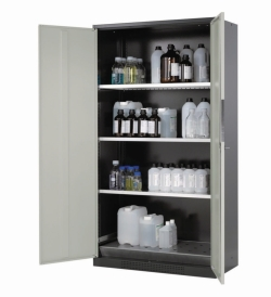 Cabinets for chemicals CS-CLASSIC with wing doors