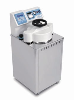 Digital vertical autoclaves, AES series