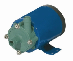 Horizontal centrifugal pumps, magnetically coupled