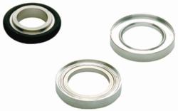 Vacuum fittings, centring rings