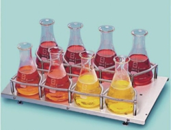 Trays for Erlenmeyer flasks