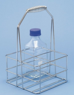 Bottle carriers for Duran square bottles