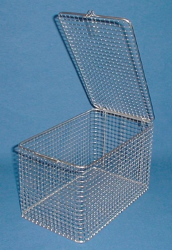 Cleaning baskets, stainless steel wire