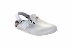 Anti-static shoes ESD, white