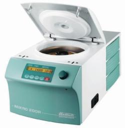 Microlitre centrifuges MIKRO 200 / 200 R
