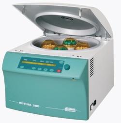 Benchtop centrifuges ROTINA 380 / 380 R