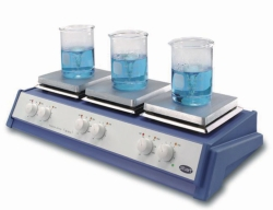 Magnetic stirrer with heating, 3-Position, SB162-3