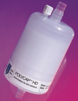 Disposable filtration capsules, PolycapHD™