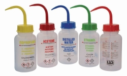 LLG-Safety wash bottles, LDPE