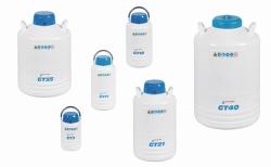 Liquid nitrogen container BIO GT, aluminium