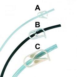 Tubing clamps, Acetal
