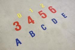 Floor markings DuraStripe® Xtreme, Numbers