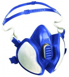 Half Mask, Series 4000 Plus, Ready to Use