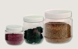 Wide mouth jars, PET