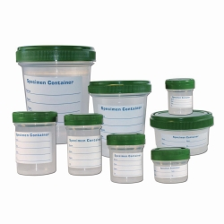 LLG-Sample containers, PP, Heavy Duty, with screw cap, HDPE