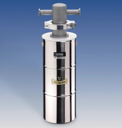 Cold traps with Dewar flask, stainless steel