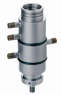 Flow-through cell for SONOPULS Ultrasonic homogenisers, stainless steel