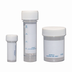 LLG-Sample containers, PS, sterile, with screw cap, PE/PP